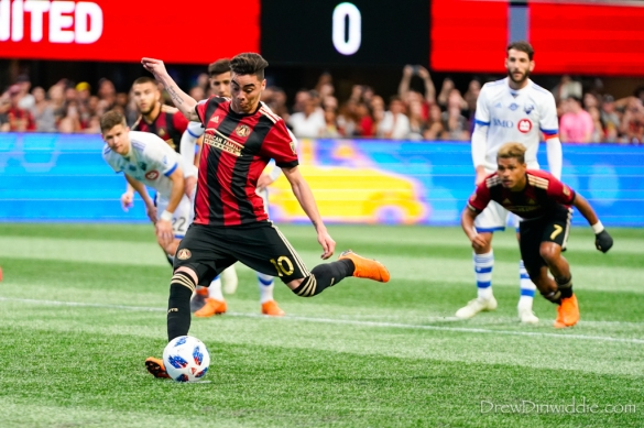 MLS 2018: MONTREAL IMPACT at ATLANTA UNITED APR 28